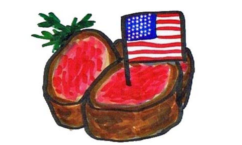 アメリカから輸入される牛肉